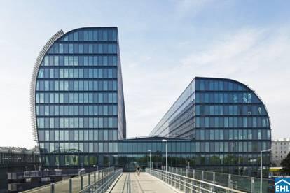 Geschäftsflächen im neuen Bürohaus Rivergate!