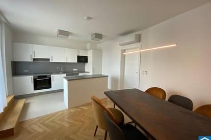 Neu sanierte,helle 3-Zimmer-Altbauwohnung mit Terrasse in 1220 Wien