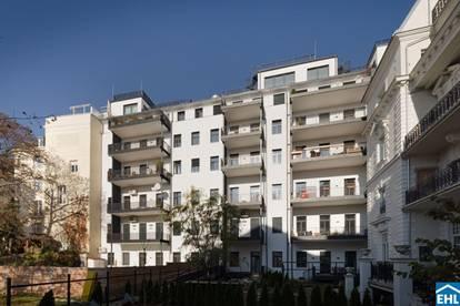 Elegante 3 Zimmerwohnung im repräsentativen Altbaustil inmitten des Wiener Botschaftsviertels
