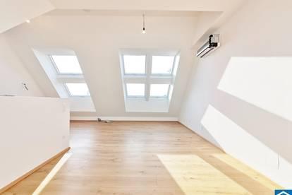 SOMMERAKTION - Klimavollausstattung! Familienfreundliche Dachgeschosswohnung nähe Aupark