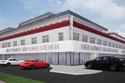 FORUM ST. PÖLTEN / 2.600 m² Geschäftsfläche in zentraler Lage zu vermieten (ideal für Fitness-Center)