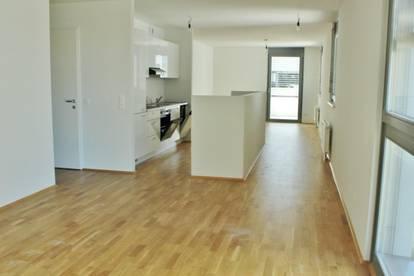 Schöne 3-Zimmerwohnung mit Terrasse und Loggia Nähe Gasometer