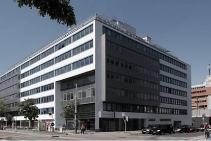 Modernes Bürogebäude mit flexibler Raumaufteilung