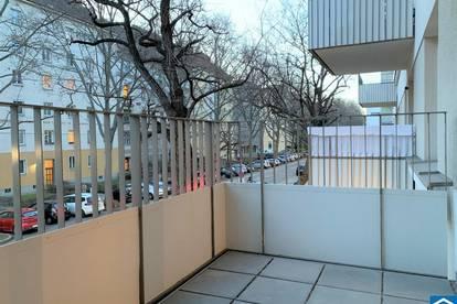schöne 1 Zimmerwohnung mit Freifläche nahe dem WU Campus und Wiener Prater
