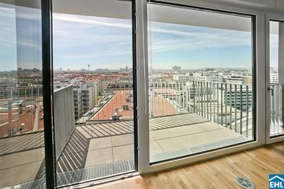 Exklusive Wohnungen mit Blick ins Grüne - 360 Grad RUNDGANG - WASSER. WIESE. WIEN