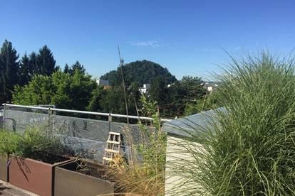 Penthouse-Traum in Geidorf! ab 30.03.2020 Frei! 130m² Dachterrasse mit Panoramablick...2 Tiefgaragen Plätze! !!