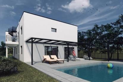 Exklusivität pur !! behindertengerechete Designergartenwohnung mit eigenem Pool..10 Minuten südlich von Graz !!