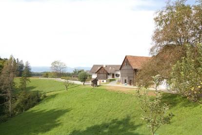 Leben im Grünen - Landwirtschaft zur Pferdehaltung oder zur Selbstversorgung in der Weststeiermark nahe Graz