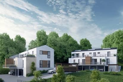 Traumhafte Maisonette-Wohnung mit Doppelhaus Charakter - Garten, Balkon und Dachterrasse!!!