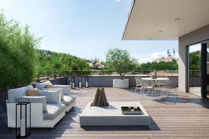 Terrassenwohnung mit perfekter Raumaufteilung