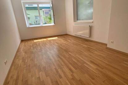 Moserhofgasse: 2 Zimmer EG-Erstbezugswohnung - Nähe TU