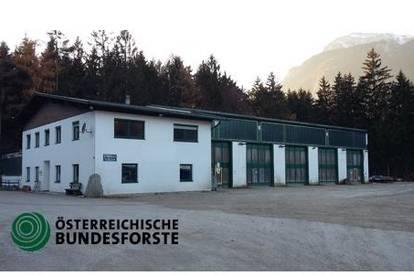 Werkstatt- und Freiflächen Bauhof Hagau Kramsach