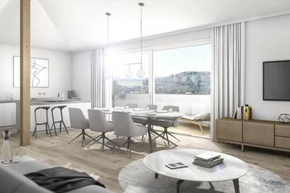LUXUS PUR - Dachgeschosswohnung mit großer Dachterrasse 41 m², Lift, Tiefgarage BAURECHTOBJEKT - PROVISIONSFREI