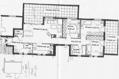 Pradl-Innsbruck 4 Zimmer Terrassenwohnung mit Tiefgarage