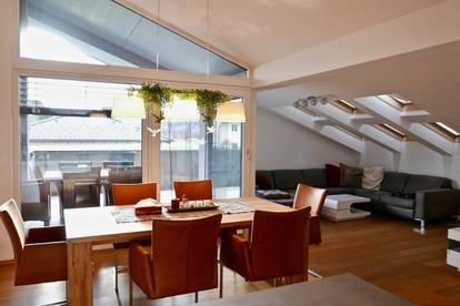 Exklusive 3 Zimmer Dachgeschosswohnung mit ca. 92 m² Wnfl - 5071 Wals / Gois