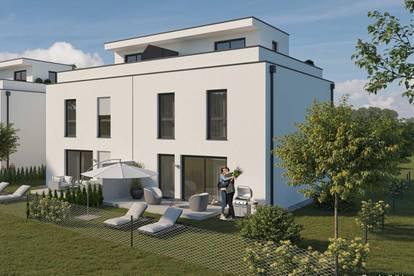 Sonnige Dachterrasse mit schönem Garten (Haus 4 DT)