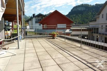 Bezau-Zentrum: 2-Zimmer-Terrassenwohnung
