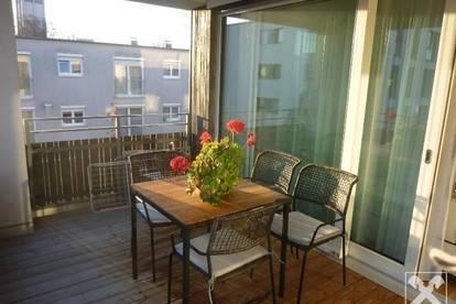 Altersgerechte Terrassenwohnung - neuwertig - exklusiv möbliert