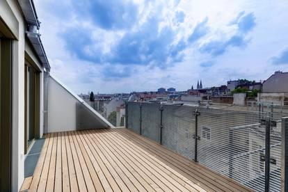 Erstbezug-Terrassenwohnung mit Wienblick!