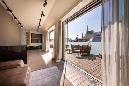 Stylishes Penthouse mit Rathausblick