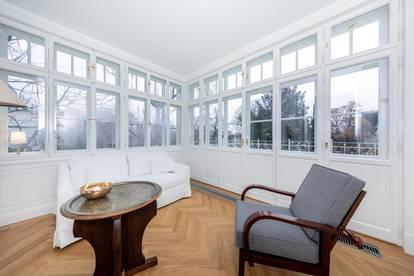 Erstbezug in Cottagevilla: großzügige Etage mit Veranda und Terrasse