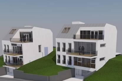 Rarität am Wolfersberg - Eck-Bau-Grundstück / Neubau-Potential für 2 Luxus-Villen /Apartmenthäuser