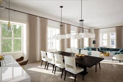 EIN FLAIR VON HISTORIE UND ZUKUNFT: Imperiales Luxusapartment in idealer Stadtlage