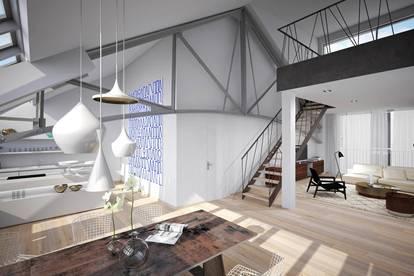 Nähe Hotel Kempinski: Luxuspenthouse mit herrlicher Dachterrasse und Fernblick