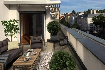 Neubauwohnung mit sehr großer Terrasse und Garage!
