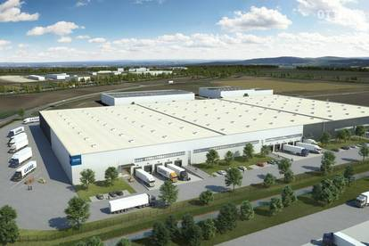Logistikzentrum Müllendorf - Neubau verfügbar ab Q1 2022
