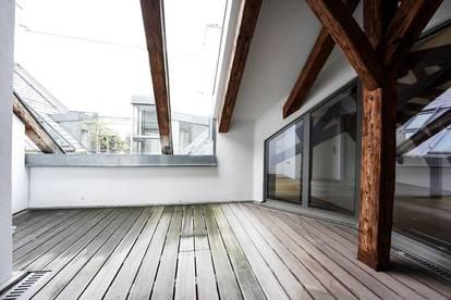 Dachgeschosswohnung mit Terrasse in ausgezeichneter Lage