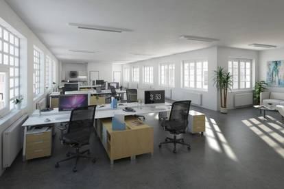 Flexible Büroflächen mit Loftcharakter
