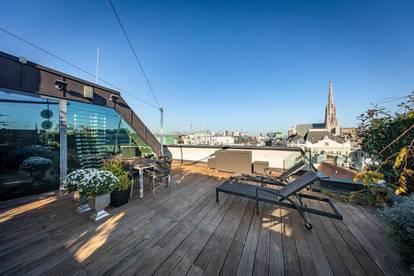 Dreistöckiges Luxus-Penthouse in der Wiener Innenstadt