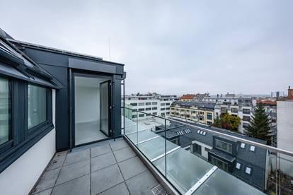 Über den Dächern von Meidling, DG Wohnung mit großzügigen Terrassen