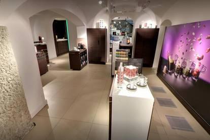 Prachvolle Geschäftsfläche im Herzen der Stadt Salzburg