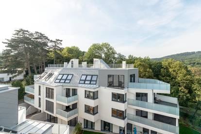 WOHNEN AM WIENERWALD: Großzügige Dachterrassenwohnung inmitten absoluter Grün-Ruhelage!