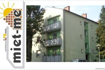 - miet- me - helle, gut aufgeteilte 2 Zimmer Wohnung mit Balkon