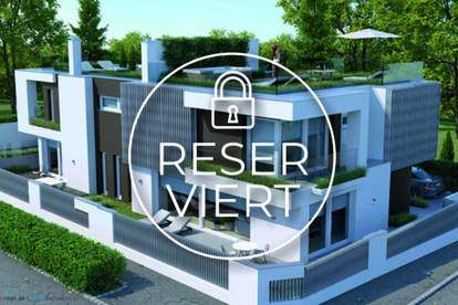 Luxuserstbezug - Moderne Villa im Doppelhaus mit tollen Freiflächen