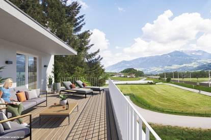 Neubau: 2-Zimmerwohnung in Sonnenlage von Terfens - Top A06