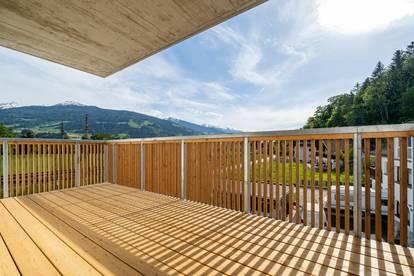 1. Bezug - Provisionsfrei: 3-Zimmer-Gartenwohnung in Sonnenlage von Terfens - Top A03