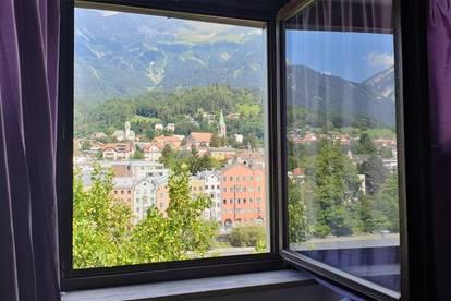 zentrale 2-Zimmer-Mietwohnung über den Dächern von Innsbruck