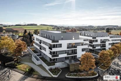 St. FLORIAN - TOPLAGE! Moderne, exklusive Neubau-2-Zimmer-Eigentumswohnung mit Loggia