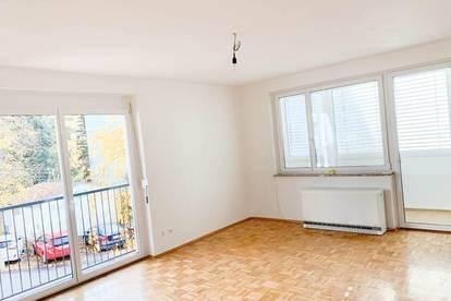 1.MONAT MIETFREI! LICHTDURCHFLUTETE 2-Zimmer-Wohnung  mit extra Küche,  Loggia und Parkplatz