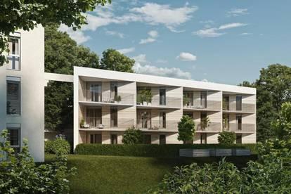 Gemütliche 2-Zimmer-Erstbezugswohnung mit Terrasse und Garten