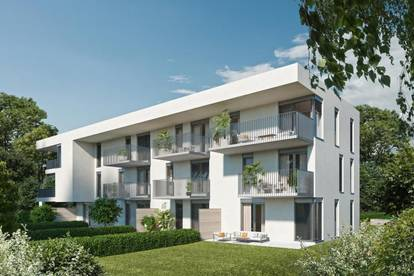 PERFEKTES WOHNRAUMKONZEPT - Lichtdurchflutete 2-Zimmer Erstbezugswohnung  mit sonnigem Balkon in Graz Strassgang
