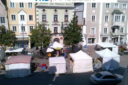 Zentrale Altbau-Mietwohnung in Braunau am Stadtplatz - auch als Büro nutzbar !