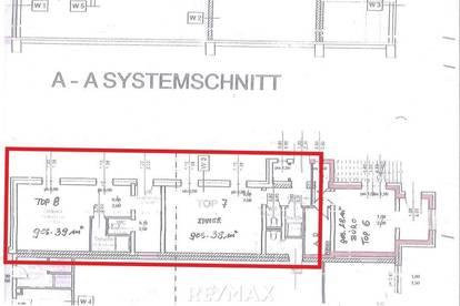 Büroräumlichkeiten inklusive Parkplätze
