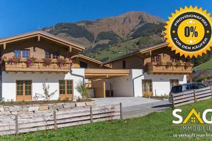 Baubeginn erfolgt! Besichtigung möglich! Renditeobjekt! Premium Chalets und Wohnungen in Rauris! Provisionsfrei!