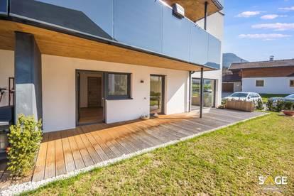Neuwertige Gartenwohnung in Erpfendorf zur Miete