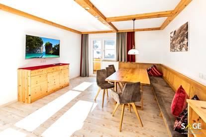 Ski In- Ski Out 4 Zimmer Ferienwohnung in Alleinlage